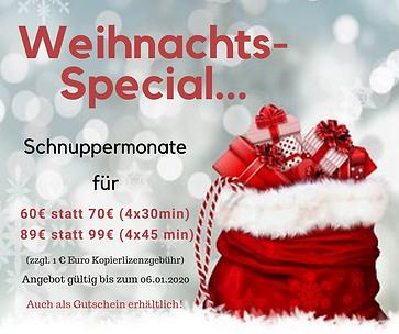 Weihnachts Sepcial 2019 Musikschule Hann