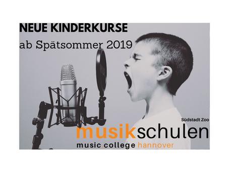 Kleine und Große Musikkinder Start ab August