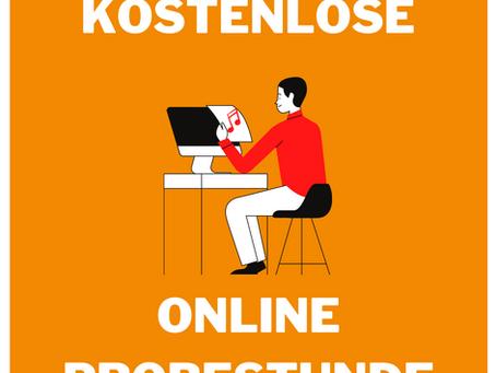 Kostenlose Online Probestunden