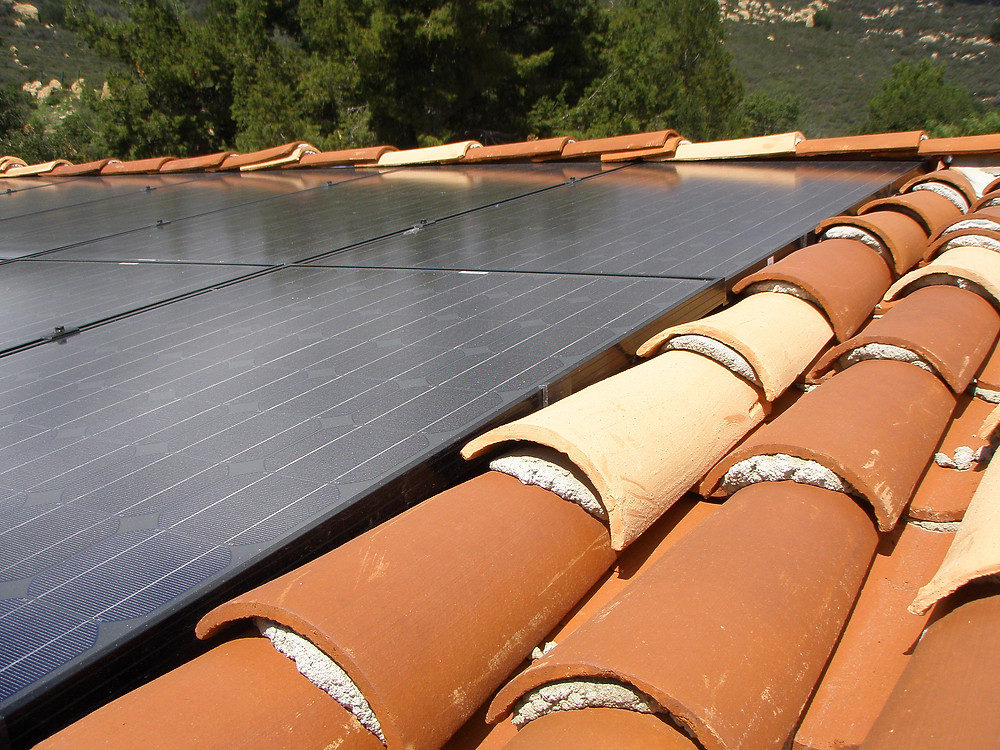 solar panel services on roof
