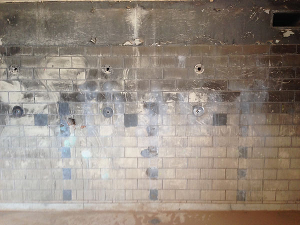 NM State Penitentiary Shower room