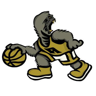 Alpha Fraternity Basketball Logo