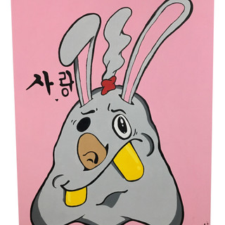 Agent bunny love.