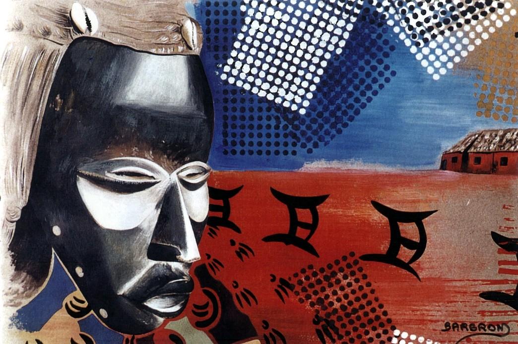 Afrique Acrylique, encre de chine