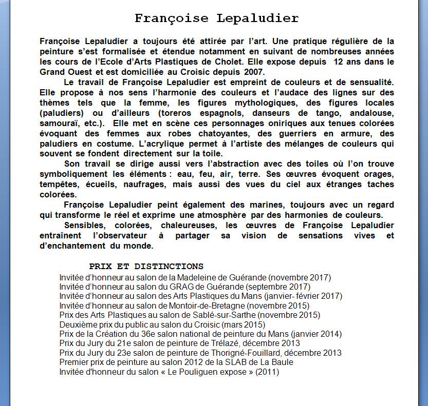 Françoise Lepaludier