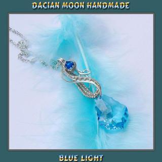 """Blue Light"" pendant"