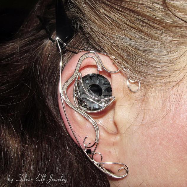 Black Moon Elf Ears