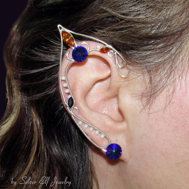 Purple Night Elf Ears