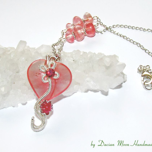 """""""In Love"""" necklace"""