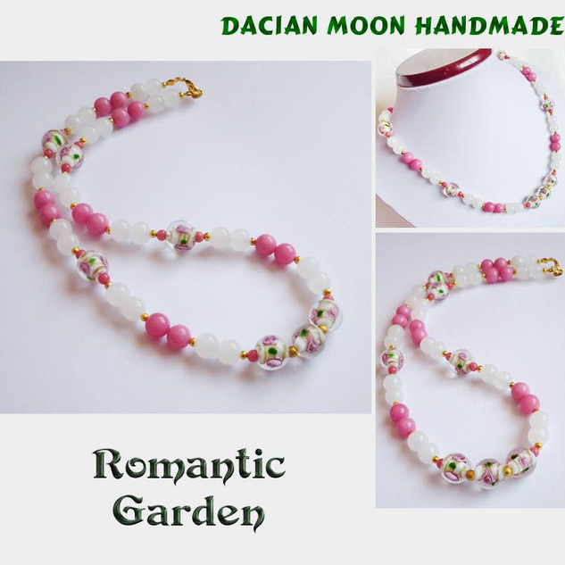 """Romantic Garden"" necklace"