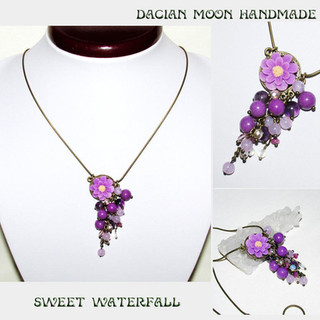 """Sweet Waterfall"" necklace"
