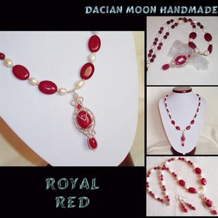 """""""Royal Red"""" set"""