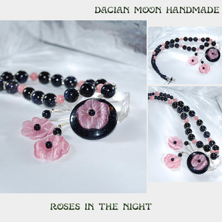 """Roses in the night"" set"