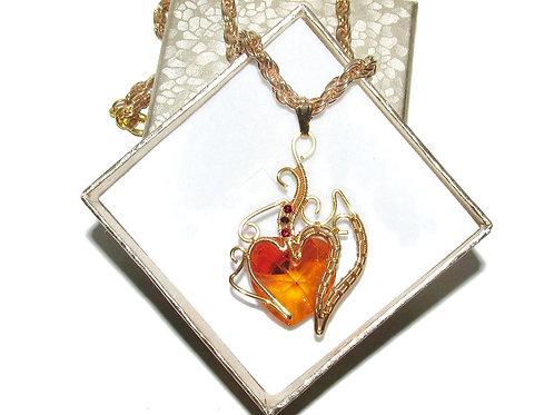 Heart Of Fire pendant