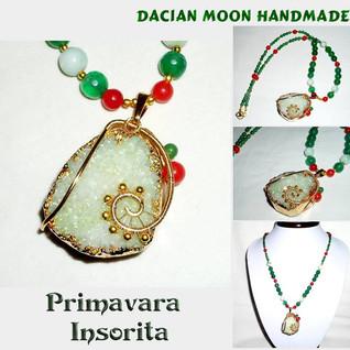 """""""Primavara Insorita"""" necklace"""