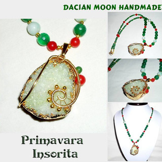 """Primavara Insorita"" necklace"