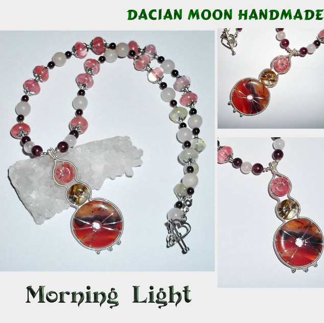 """Morning Light"" necklace"