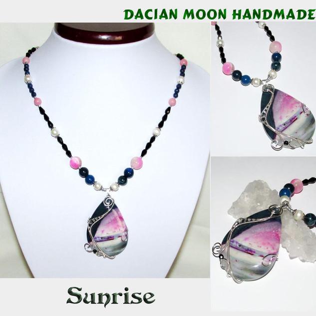"""""""Sunrise"""" necklace"""