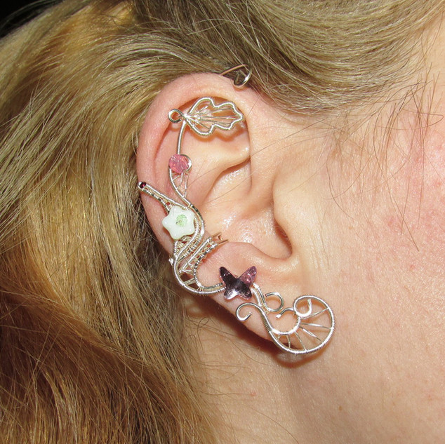 Dreaming at Spring Ear cuff