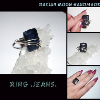 """Jeans"" ring"