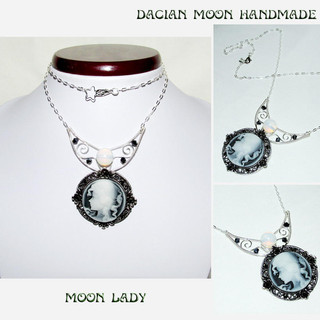 """Moon Lady"" necklace"