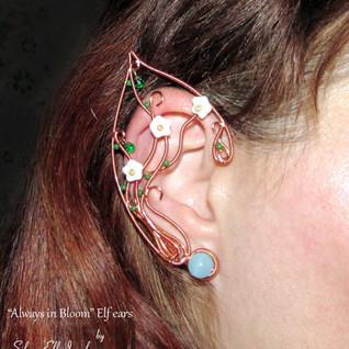 Always In Bloom Elf Ears - Copper