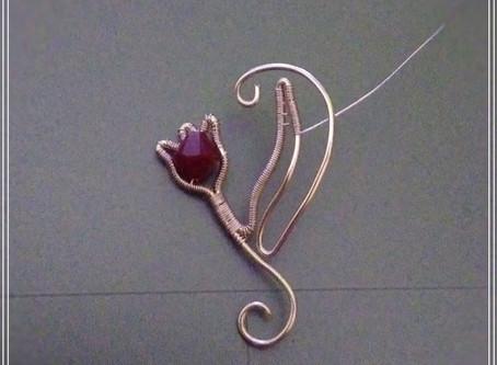 Heart jewelry, work in progress
