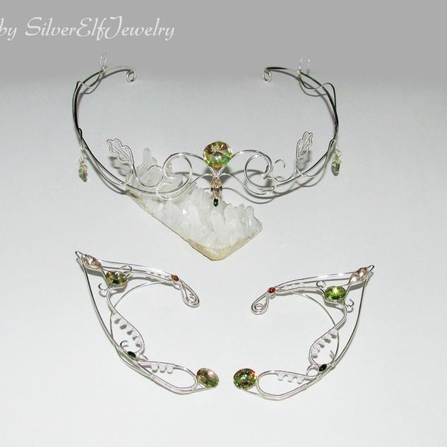 Elven Princess Jewelry Set