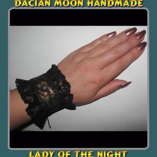 """""""Lady of the Night"""" bracelet (2 sides)"""