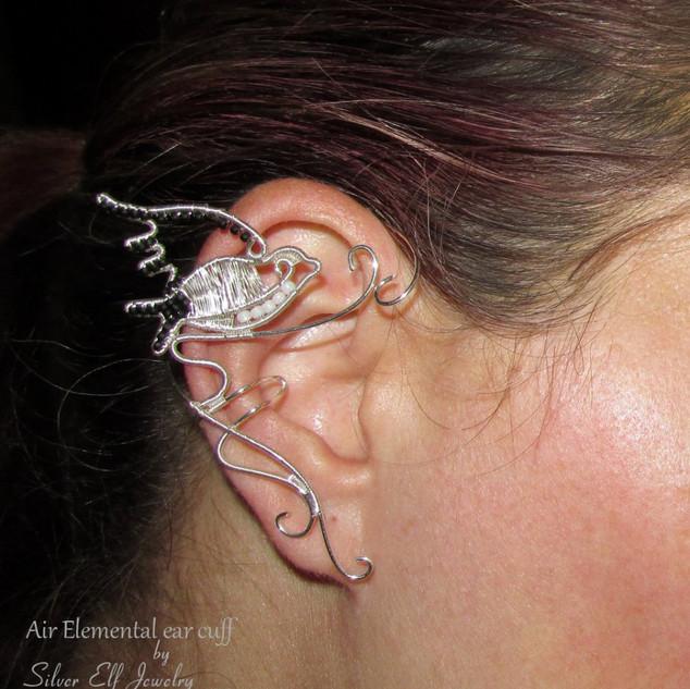 Air Elemental Ear Cuff