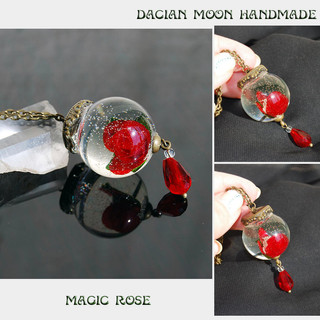 """Magic Rose"" pendant"