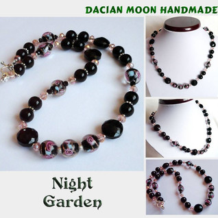 """Night Garden"" necklace"