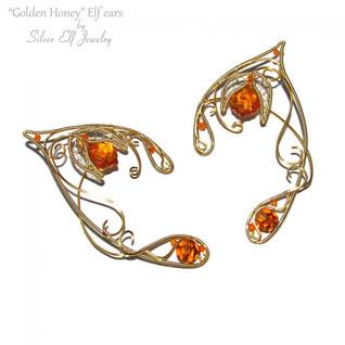Golden Honey Elf Ears