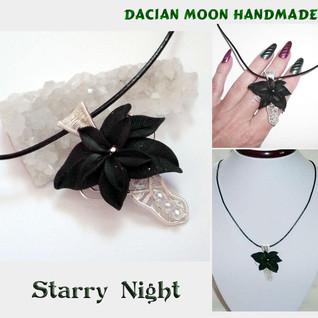 """Starry Night"" pendant"