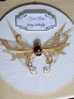 Fairy butterfly wall decor