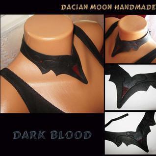 """""""Dark Blood"""" choker"""