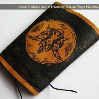 """""""Moon Goddess"""" arm bracer"""