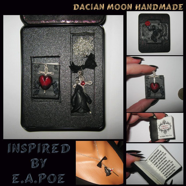"""Inspired by E.A. Poe"" gift box"