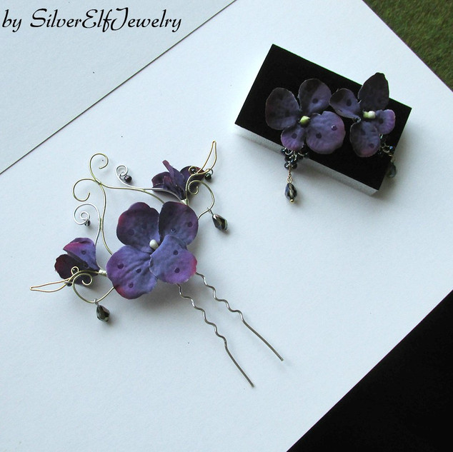 """Sunset Garden"" Jewelry Set"