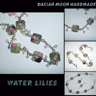 """Water Lilies"" set"