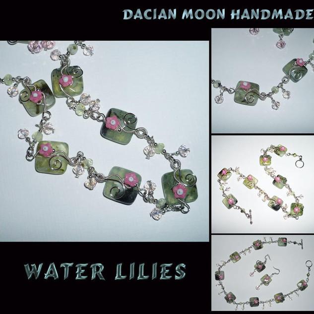 """Water Lilies"" set"