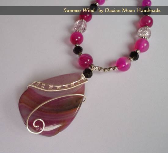 """Summer Wind"" pendant"