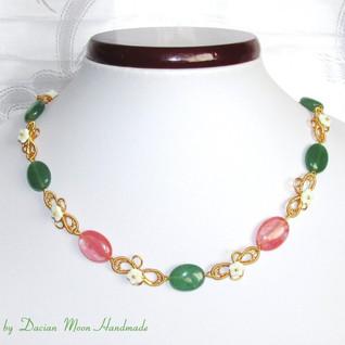 """Spring"" necklace"
