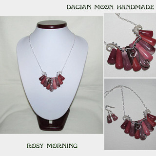"""Rosy morning"" set"