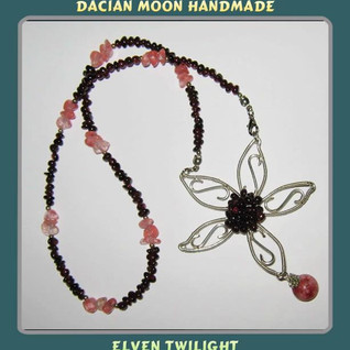 """Elven Twilight"" necklace"