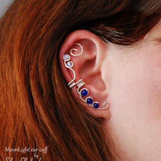 Moonlight Ear Cuff