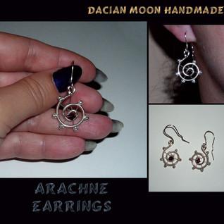 Arachne earrings