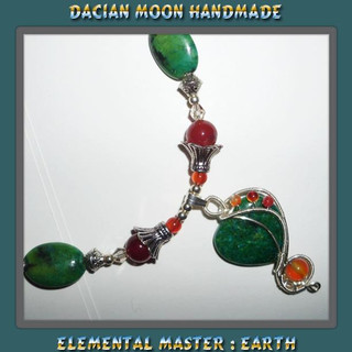 """""""Elemental Master : Earth"""" necklace"""