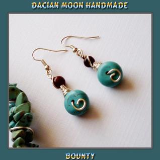 """""""Bounty"""" set - the earrings"""