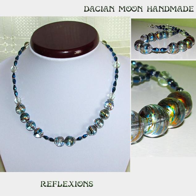 """Reflexions"" necklace"